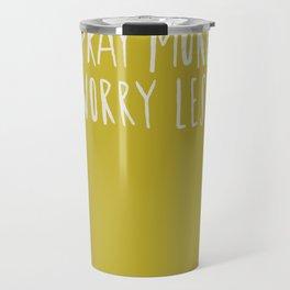 Pray More x Mustard Travel Mug