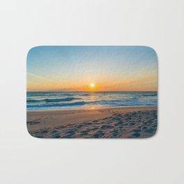 Canaveral National Seashore Sunrise Bath Mat