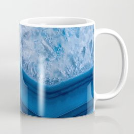Blue Agate Geode Coffee Mug