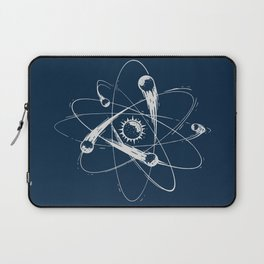 Atomic Meteors Laptop Sleeve
