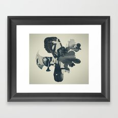 embers of clarity Framed Art Print