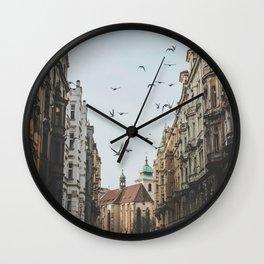 Prague, Czechia VI Wall Clock