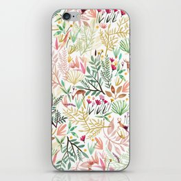 Deers In The Forest iPhone Skin