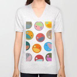 Utterly quackers  Unisex V-Neck