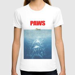 Paws - Jaws Parody T-shirt