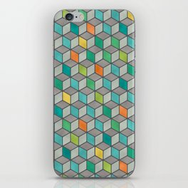 Block Party iPhone Skin