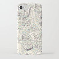 shopping iPhone & iPod Cases featuring Paris Shopping by RED ROAD STUDIO