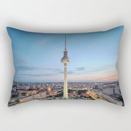 Berlin TV Tower Rectangular Pillow