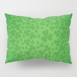 irish, ireland, shamrock, irish gifts women, luck of the irish, irish gift, three leaf clover Pillow Sham