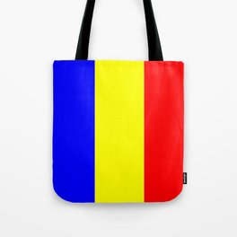 Flag of romania 2 -romania,romanian,balkan,bucharest,danube,romani,romana,bucuresti Tote Bag