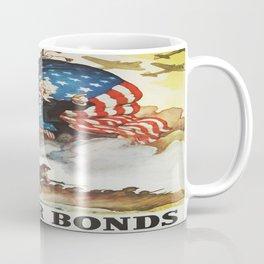 Vintage poster - Buy War Bonds Coffee Mug