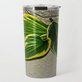 Gilded Leaves Travel Mug