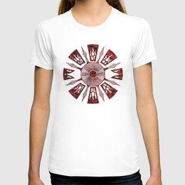 dashása redstone mandala T-shirt