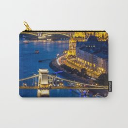 Budapest Night City Carry-All Pouch