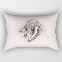 Ruby and the Rat Rectangular Pillow