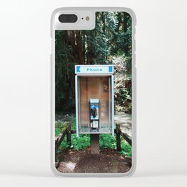 Obsolete Clear iPhone Case
