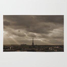 Rooftop view of Paris Rug