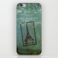 casablanca iPhone & iPod Skins featuring Paris by Sybille Sterk