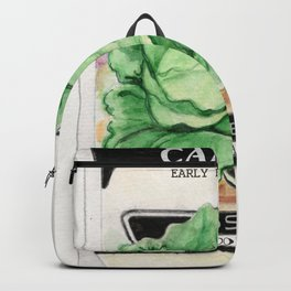 Cabbage Seed Packet Backpack