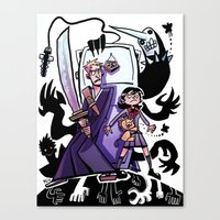 bleach Canvas Prints featuring BLEACH by cigar-blues