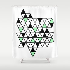 Geometría Shower Curtain