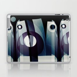 Modern abstract with geometric shapes Laptop & iPad Skin