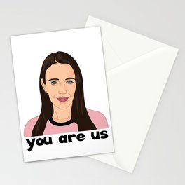 Jacinda Ardern Quote, You Are Us Stationery Cards