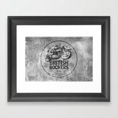British Rockers 1967 Framed Art Print