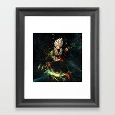 Clone goku Framed Art Print