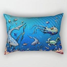 Unda da Sea Rectangular Pillow