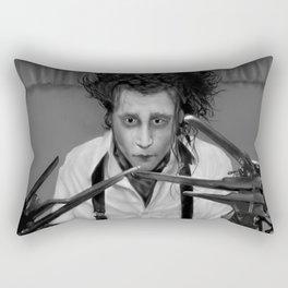 Edward Scissorhands Rectangular Pillow