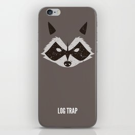 Rocket Raccoon - Log Trap iPhone Skin