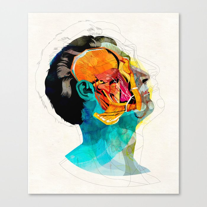 Anatomy [Ellis+Ford] Canvas Print
