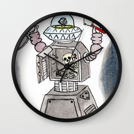 CLANK! CLANK! YOU'RE DEAD! Wall Clock
