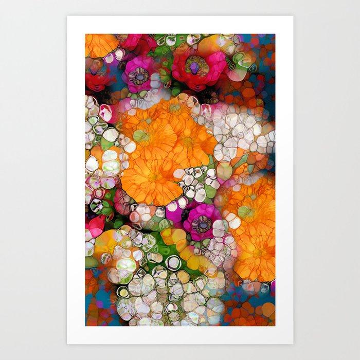Many Colors Art Print