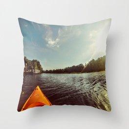 Beauty Offset Throw Pillow