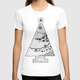 Doodle Christmas Tree T-shirt