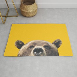 Bear - Yellow Rug