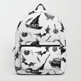 Halloween pattern design Backpack