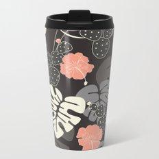 Tropical pattern 056 Metal Travel Mug