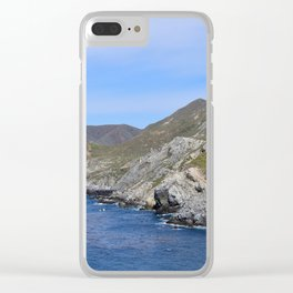 Euphorbia Haven Clear iPhone Case