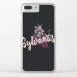 PEOPLE of AZEROTH: Sylvanas Clear iPhone Case