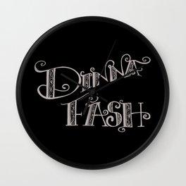 DINNA FASH Wall Clock