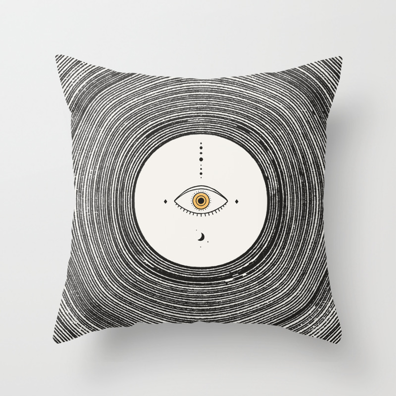 Universe Eye Throw Pillow By Speakerine