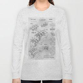 1961 Toy building brick Long Sleeve T-shirt