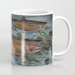 Steelhead Trout Migration in Fall Coffee Mug