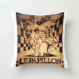 LE PAPILLON Throw Pillow