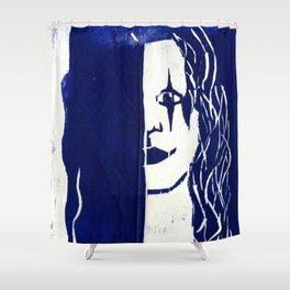 Brandon Lee Blue Shower Curtain