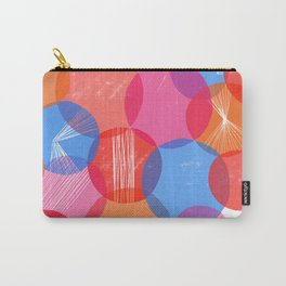 Bauhaus Bubbles - by Kara Peters Carry-All Pouch