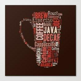 Coffee Lovers Canvas Print
